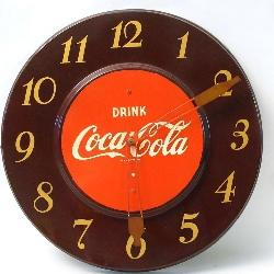 5293eae041f0 Vintage Drink Coca Cola clock