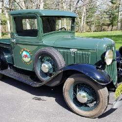Pick up, automobile, truck, classic
