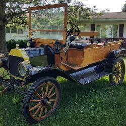 1914 Wood & Brass Model T Ford - Award winning showpiece
