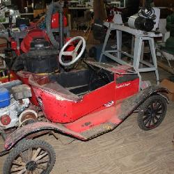Vintage Go Cart Cart Model T