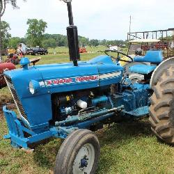 Ford and Cub Farmall Tractors