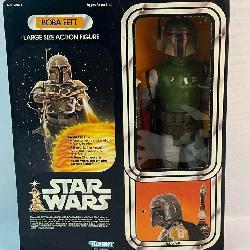 Vintage 1979 Kenner Star Wars Large Size Bobba Fett Action Figure w/ Original Box NEW IN BOX