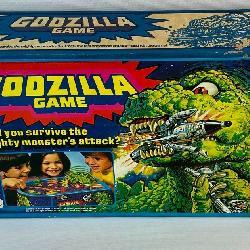 Vintage 1978 Mattel Godzilla Game w/ Box COMPLETE
