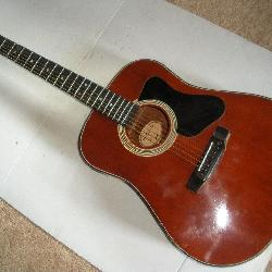 Madeira Acoustic Guitar w/Case, Model A-7