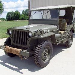 1942 Ford GPW Military Jeep - Restored
