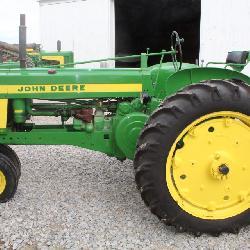 Lot# 603 John Deere Model 520 NF restored tractor - power steering