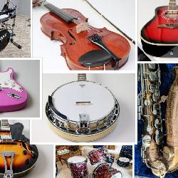 Musical Instruments Auction