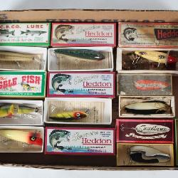 #146 Heddon fishing lure lot