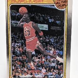 1988 Fleer All Star Team Michael Jordan #120