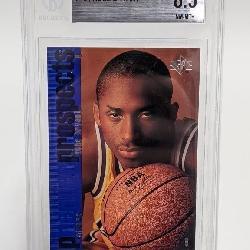 1996-97 SP Kobe Bryant #134 Beckett 8.5 RC