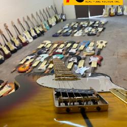 ONLINE Huge Electric Guitar Auction