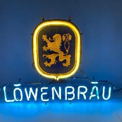 Vintage Lighted Lowenbrau NEON Beer Sign
