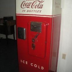 Coca-Cola Machine, 25x25x68, Model # CM-51A