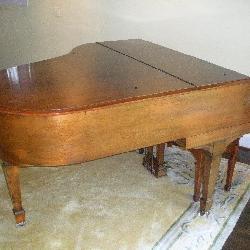 Steinway 1923 Model M Baby Grand Piano W/Bench