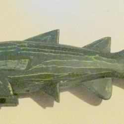 Folk Art Carved Fish