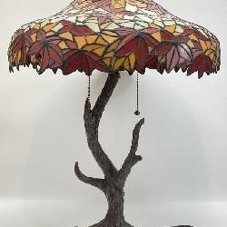 Tiffany Style Art Glass Table Lamp