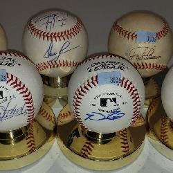 3036: 6 ct. Autographed Baseballs with Prince Fielder