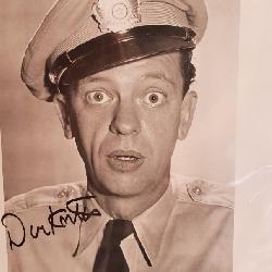 3084: Don Knotts Autographed Photograph