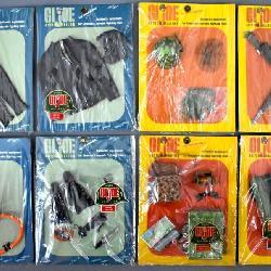 Mint carded GI Joe accessories