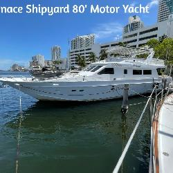 1991 Inace Shipyard 80′ Motor Yacht / Pleasure Yacht
