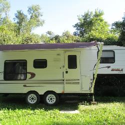 1999 Eagle by Jayco 21' 5th wheel camper