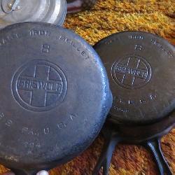 Griswold Cast iron skillets