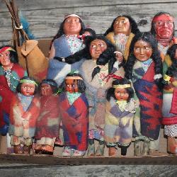 Native American Skookum dolls #1