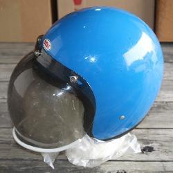 Bell helmet w/ bubble visor