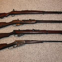 Firearm Collection incl. Winchester, Mosin Nagant, etc.