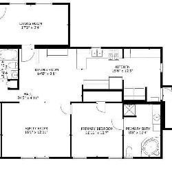 House Trailer 3 bedroom, 2 bathroom home