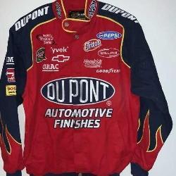 NASCAR DuPont racing jacket, size medium