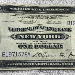 Federal Reserve Note New York 1914