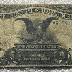 1899 Black Eagle Silver Cert.