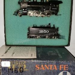 United 2-8-0 Santa Fe Consolidation HO Trains