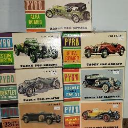 7 ct. PYRO Classic Car Models