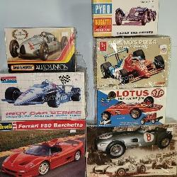 7 ct. Classic Car Models with AMT, PYRO, Revell