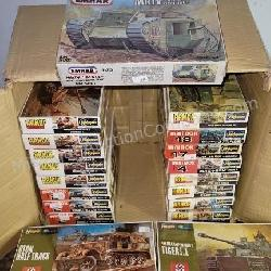 22 ct. Hasegawa, Armor, Emhar Military Models