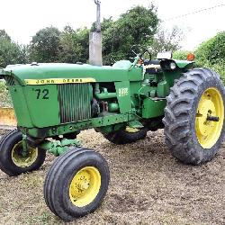 JD 3020, side console
