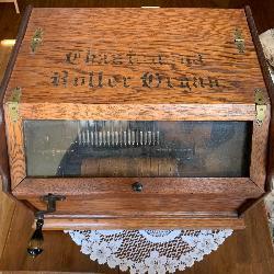 Antique Roller Organ