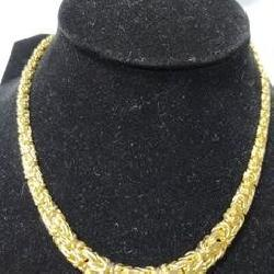 14 KT Necklace - Marked 585 Italy approx. weight in grams 16.7