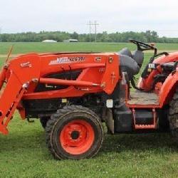2 Kioti Tractors!
