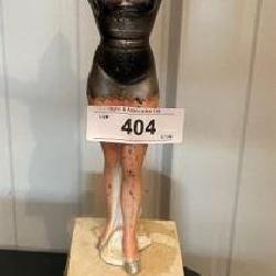 Vintage Sterling Bell Figurine