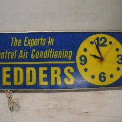 FEDDER A/C Lighted Clock 36 x 14 x 5 inch