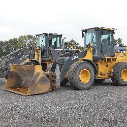 (2) Deere 624J Tool Carriers