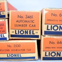 Many Lionel postwar O gauge Trains