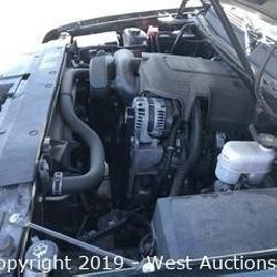 Online Auction of 2013 Chevrolet Avalanche LTZ 4WD Black Diamond Edition