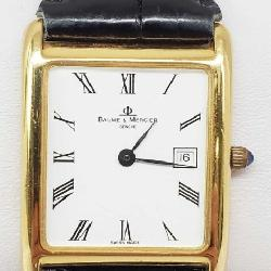 18K Gold Baume MErcer Watch