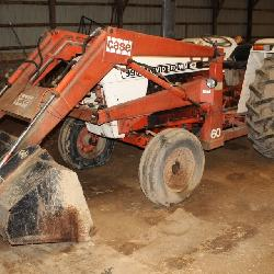 995 David Brown Case Tractor w/ Case 60 Front End Loader  4316 hours