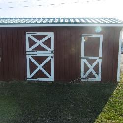 One Stall Horse Barn