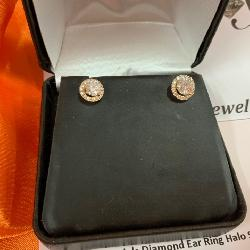 4 DIAMOND EARRINGS